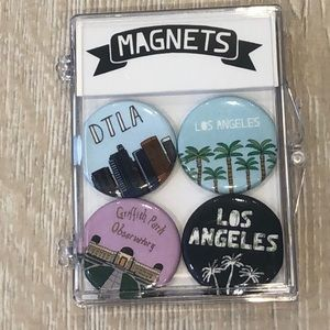 Magnets: city of Los Angeles